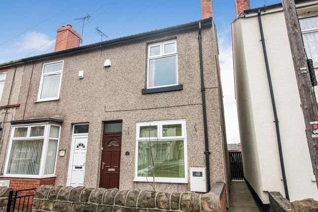 Thumbnail End terrace house to rent in Yorke Street, Mansfield Woodhouse, Notts