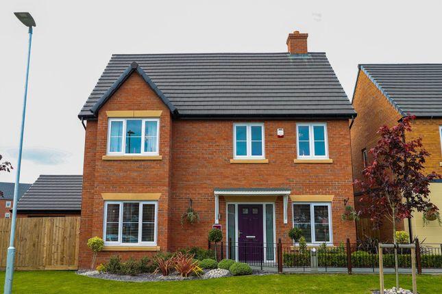 Thumbnail Detached house for sale in Boughton Road, Moulton, Northampton