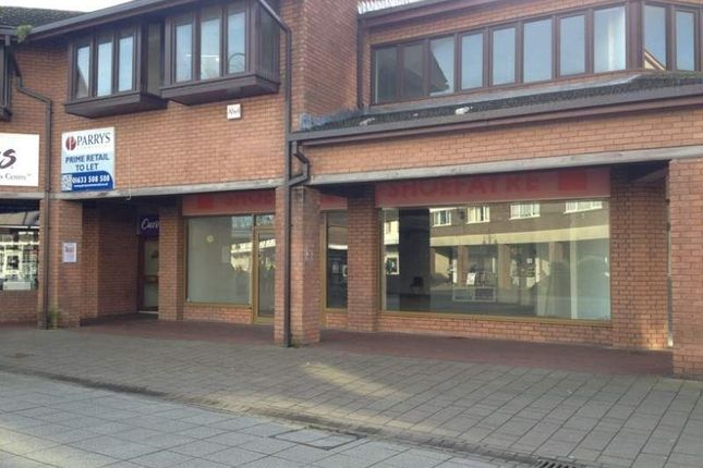 Thumbnail Retail premises to let in Range Of Retail Units, Wesley Buildings, Caldicot