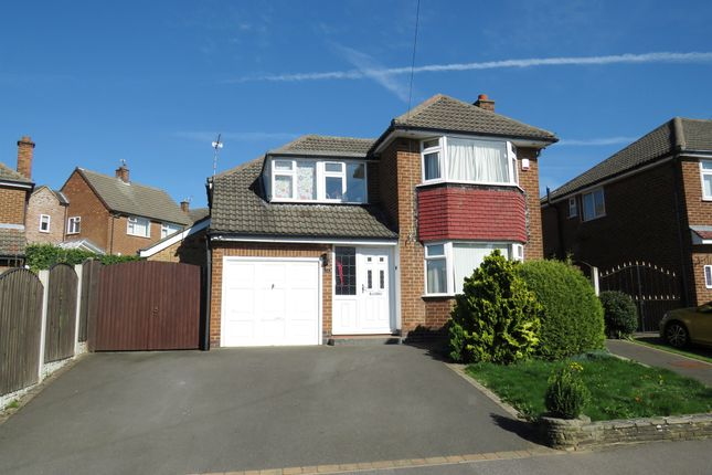 Thumbnail Detached house for sale in Portreath Drive, Allestree, Derby