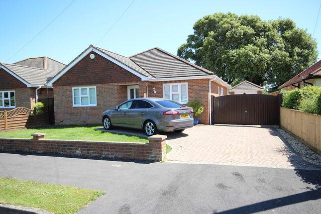 Thumbnail Detached bungalow for sale in Greenacre, Barton On Sea, New Milton