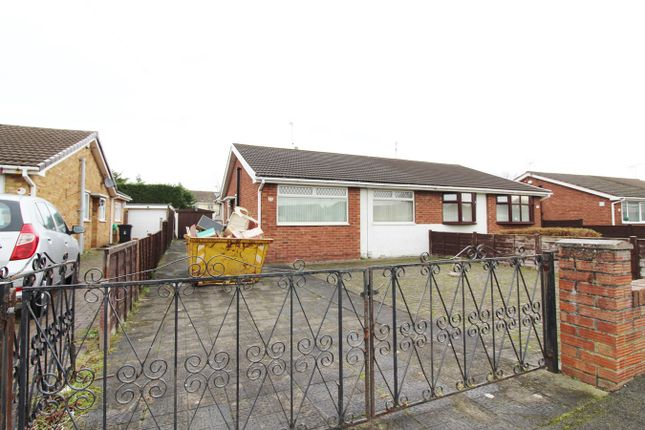 Thumbnail Semi-detached bungalow for sale in Eastmoor Road, Newport