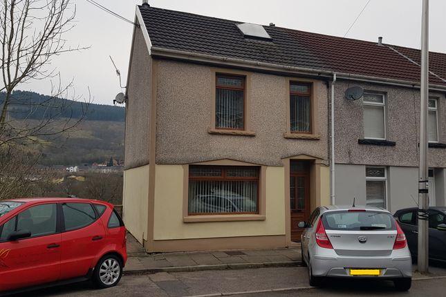 Thumbnail End terrace house for sale in Station Terrace, Merthyr Vale, Merthyr Tydfil