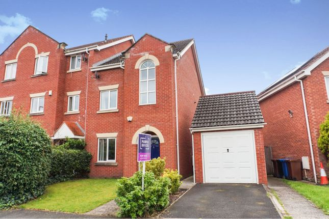 Thumbnail Semi-detached house for sale in Goodwood Drive, Stockport