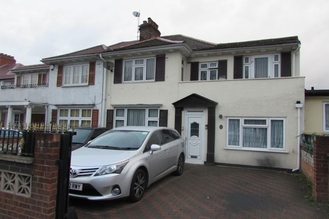 Thumbnail Semi-detached house for sale in Langdale Gardens, Greenford