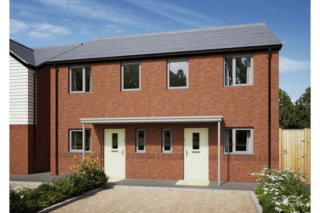 2 bed terraced house for sale in The Grange, Glider Close, Christchurch, Dorset
