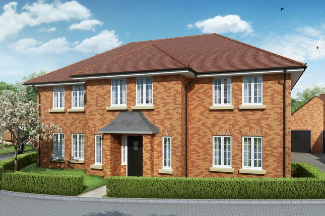 "Thumbnail Detached house for sale in ""The Windsor"" at Lower Road, Chalfont St. Peter, Gerrards Cross"