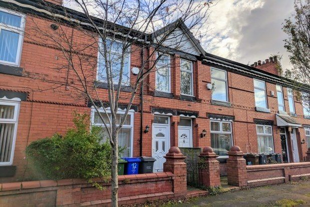 2 bed terraced house to rent in Dorset Avenue, Manchester M14