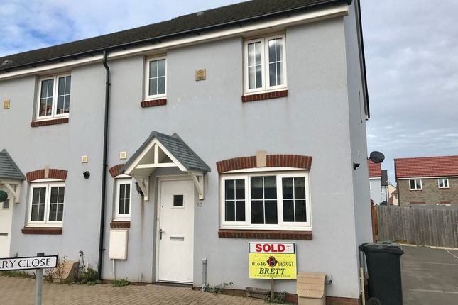 Thumbnail Semi-detached house to rent in Sunningdale Drive, Milford Haven, Pembrokeshire