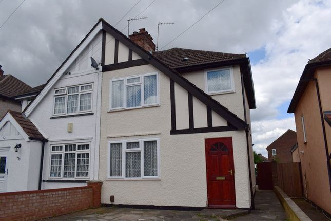 Thumbnail Semi-detached house to rent in Clewer Crescent, Harrow Weald