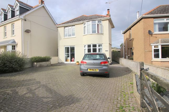 Thumbnail Detached house to rent in Southerdown Rd, St. Brides Major, Bridgend.