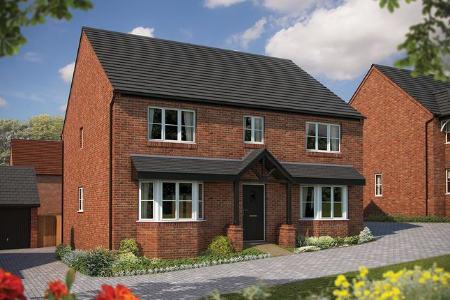 "Thumbnail Detached house for sale in ""The Winchester"" at Irthlingborough Road, Wellingborough"