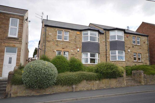 Thumbnail 2 bed flat for sale in Benfieldside Road, Shotley Bridge, Consett