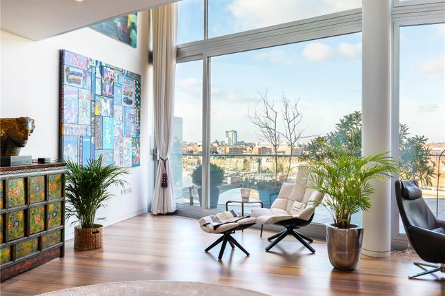 Thumbnail Flat for sale in Albion Riverside Penthouse, Hester Road, London