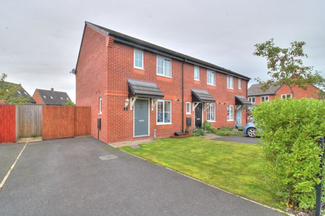 Thumbnail End terrace house for sale in Tattersall Road, Whittingham, Preston