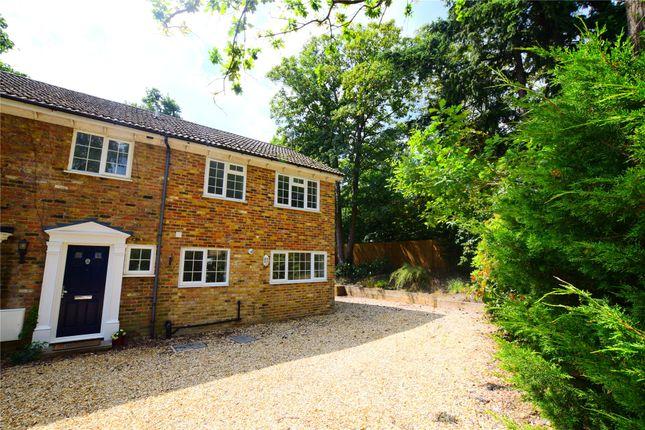 Thumbnail End terrace house for sale in Bosman Drive, Windlesham, Surrey, Surrey