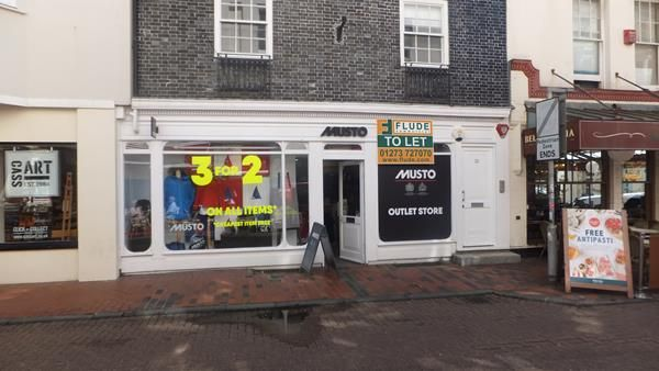 Thumbnail Retail premises to let in 23 Market Street, Brighton, East Sussex