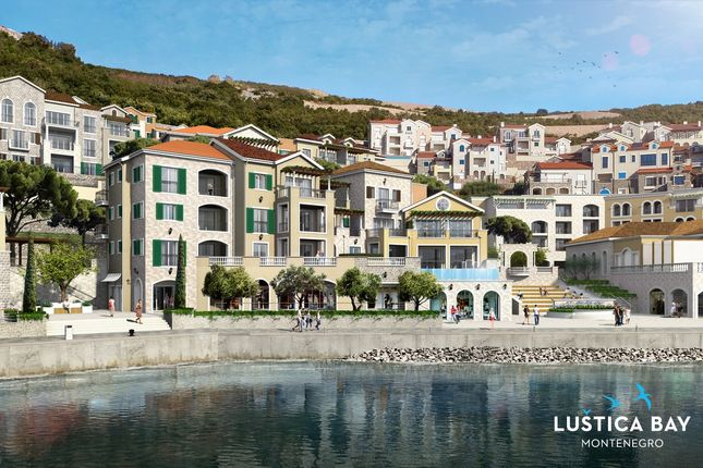 Thumbnail Apartment for sale in Waterfront Four-Bedroom Penthouse In Lustica Bay Marina Village, Lustica Bay, Montenegro
