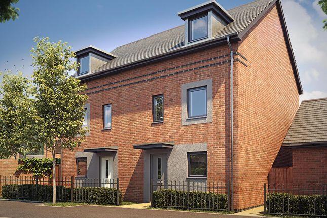 "Thumbnail End terrace house for sale in ""Woodcote"" at Langaton Lane, Pinhoe, Exeter"