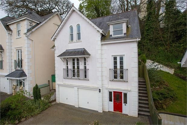 Thumbnail Detached house for sale in Oak Lawn, Newton Abbot, Devon.