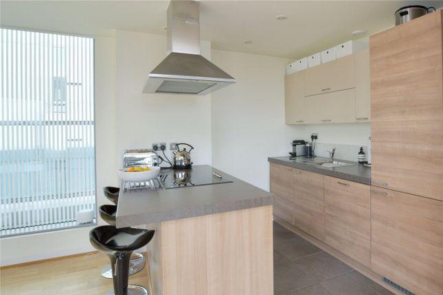 Kitchen Area of Atrium Heights, 4 Little Thames Walk, Deptford, London SE8