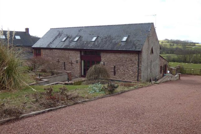 Thumbnail Detached house to rent in Pentre Barn, Llansoy, Usk