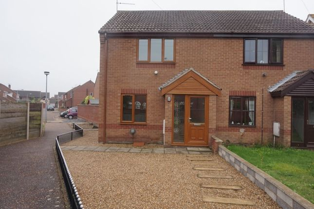 Thumbnail Semi-detached house to rent in Vervain Close, Bradwell, Great Yarmouth