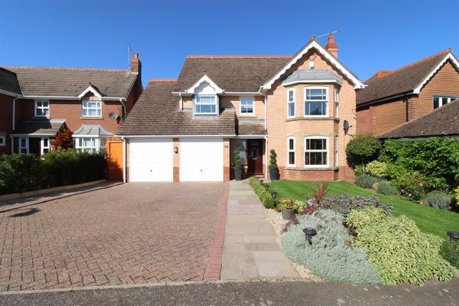 Thumbnail Detached house for sale in Hawthorn Drive, Uppingham, Oakham