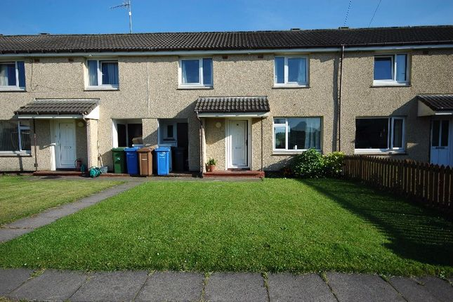 Thumbnail Terraced house to rent in Dundonald Crescent, Barassie, North Ayrshire