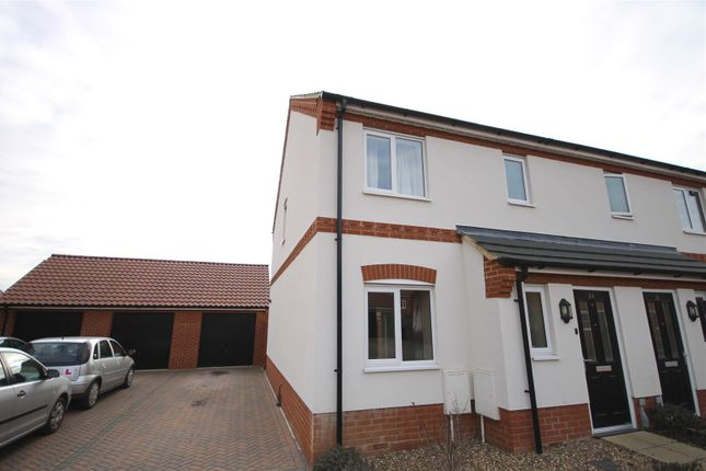 3 bed semi-detached house to rent in Verbena Road, Cringleford, Norwich NR4