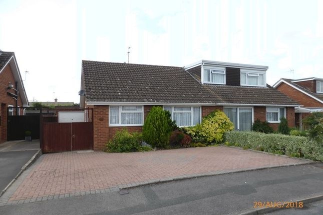 Thumbnail Semi-detached bungalow to rent in Nottingham Road, Bishops Cleeve, Cheltenham
