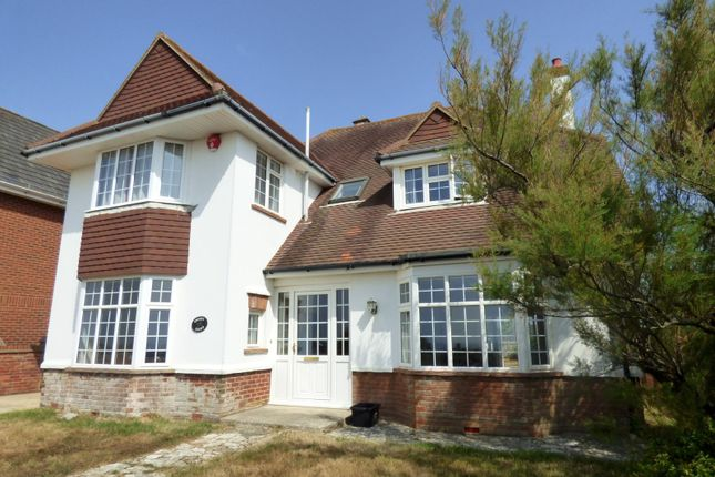 Thumbnail Detached house to rent in Marine Drive East, Barton On Sea