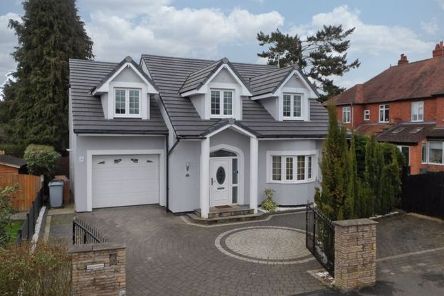 Thumbnail Detached house for sale in Brookland Avenue, Wistaston, Cheshire
