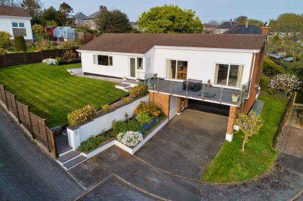 Thumbnail Detached bungalow for sale in Long Orchard, Lockeridge Road, Bere Alston, Yelverton