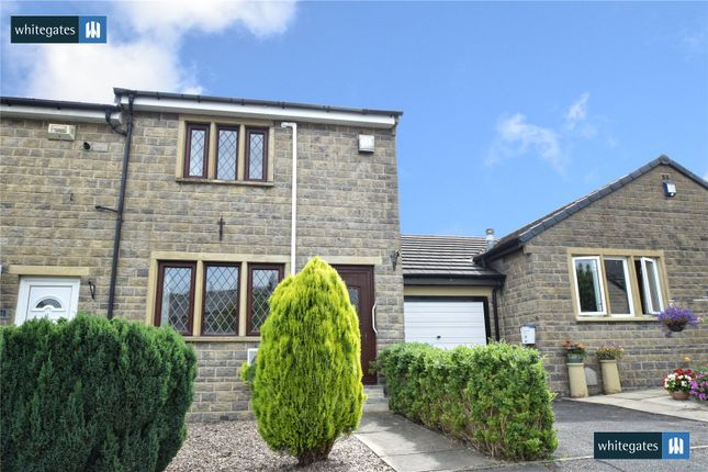 Thumbnail End terrace house for sale in Forge View, Steeton, West Yorkshire