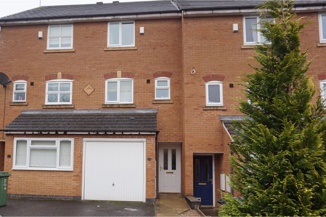 Thumbnail Terraced house to rent in Honeychurch Close, Redditch