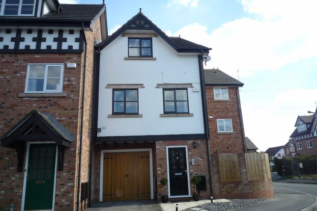 Thumbnail Town house to rent in Lower Brook Lane, Worsley, Manchester