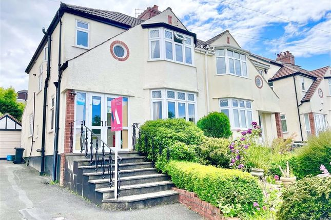 3 bed semi-detached house to rent in Downs Cote Drive, Westbury On Trym, Bristol BS9