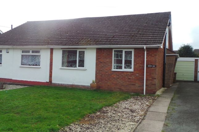 Thumbnail Semi-detached bungalow for sale in Nicholas Road, Streetly, Sutton Coldfield