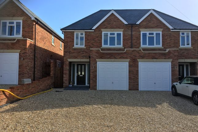 Thumbnail Semi-detached house to rent in Branksome Hill Road, Sandhurst