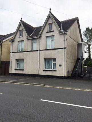 Thumbnail Flat to rent in Ammanford Road, Llandybie, Ammanford