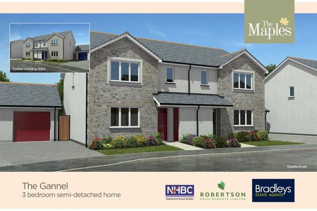 Thumbnail Semi-detached house for sale in Gwel Kann, Park Bottom, Redruth, Cornwall