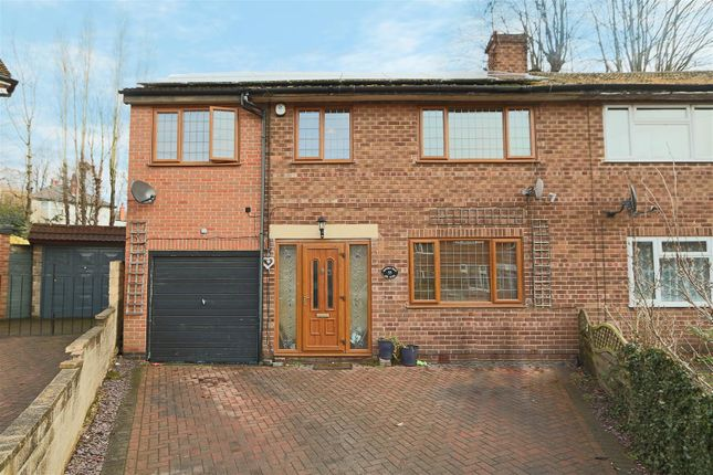 Thumbnail Semi-detached house for sale in Rufford Road, Sherwood, Nottingham