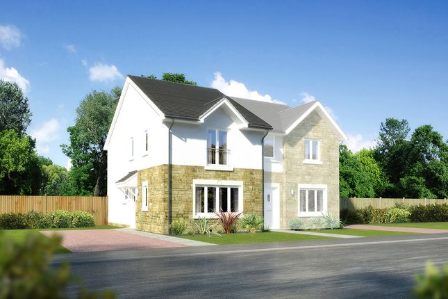 "Thumbnail Semi-detached house for sale in ""Belvoir"" at Earl Matthew Avenue, Arbroath"