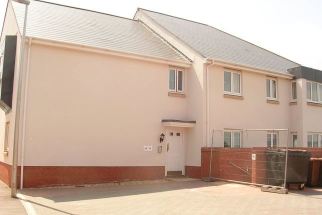 Thumbnail 1 bed flat to rent in Oakfields, Tiverton