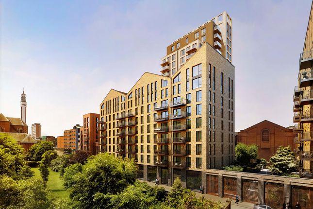 Flat for sale in Snow Hill Wharf, Shadwell Street, Birmingham