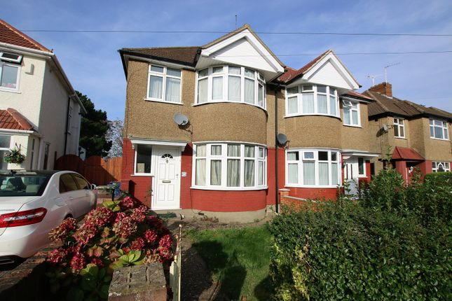 3 bed semi-detached house for sale in Danemead Grove, Northolt