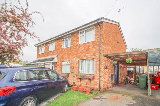 Thumbnail Semi-detached house for sale in Woburn Drive, Nuneaton
