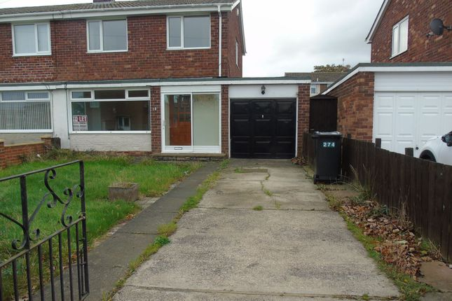 Thumbnail Semi-detached house to rent in Alexandra Road, Ashington