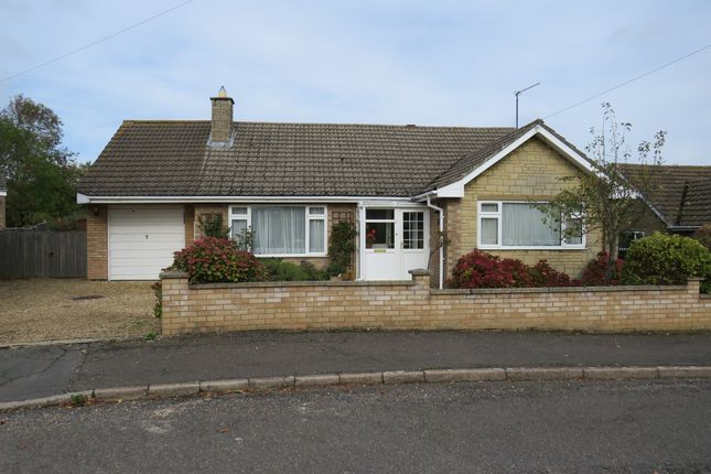 Thumbnail Detached bungalow for sale in St Peters Road, Oundle, Peterborough